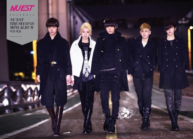nuest 2nd mini album